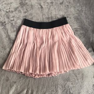 Flowy Pleated Skirt